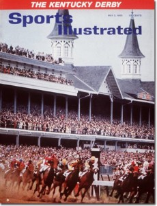 The Kentucky Derby Trials May 3, 1965 X 9990 credit: Neil Leifer - contract