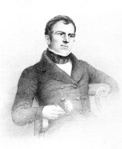 William Griffith in 1843. From: Makers of British Botany (1913).